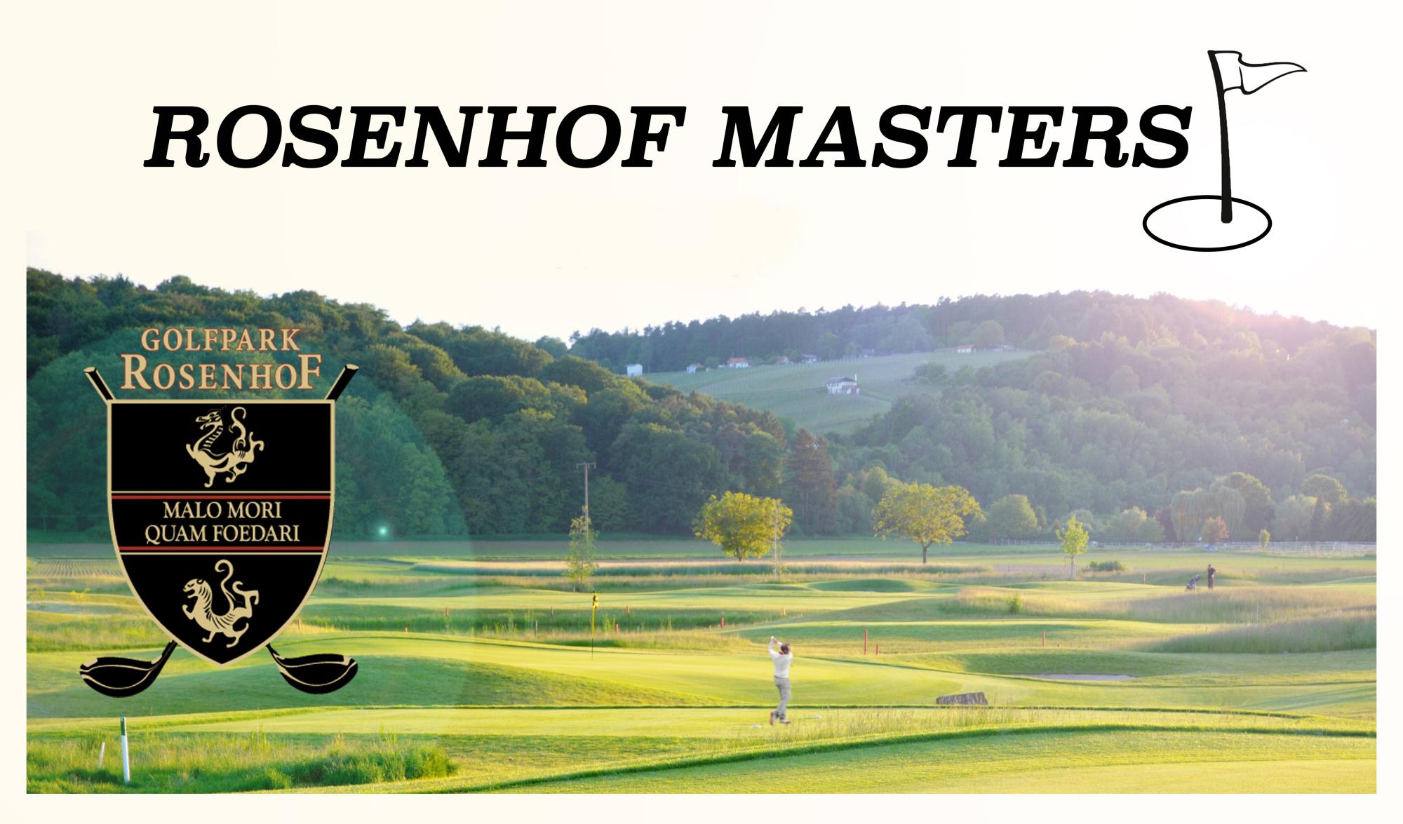 Gesamtsieger und Ergebnisliste der diesjährigen Rosenhof Masters.