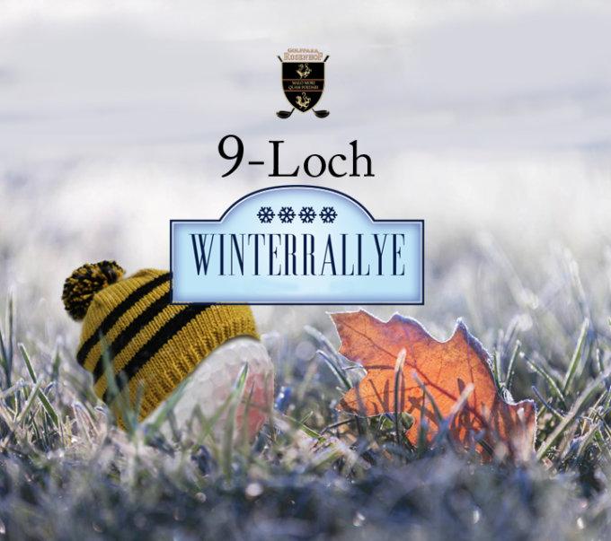 Die 9-Loch Winterrallye