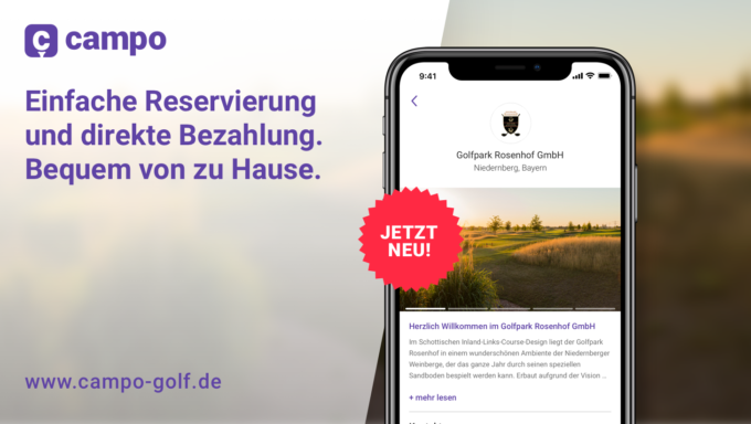 Startzeiten bequem vom Handy buchen – 03.03.2019