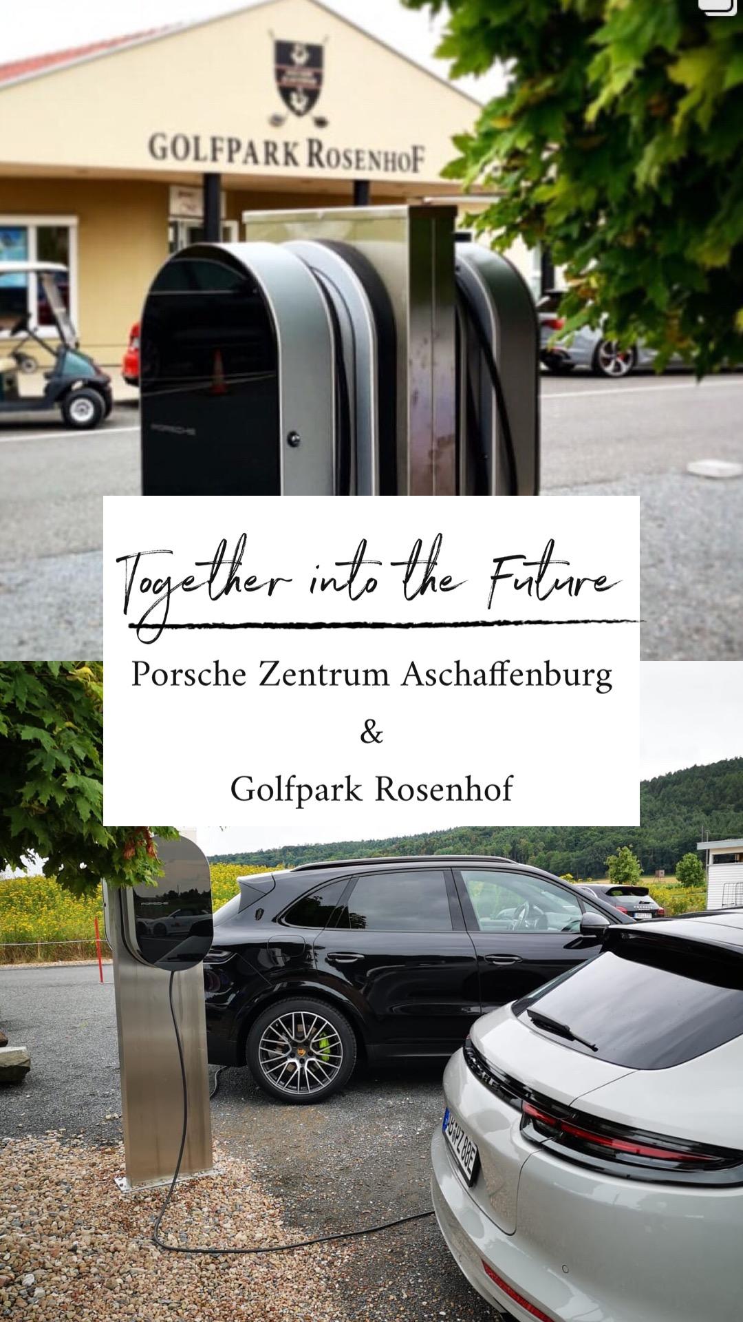 Together Into The Future – E-Ladestationen mit unserem neuem Partner Porsche-Zentrum Aschaffenburg.